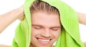 خشک کردن مو با حوله