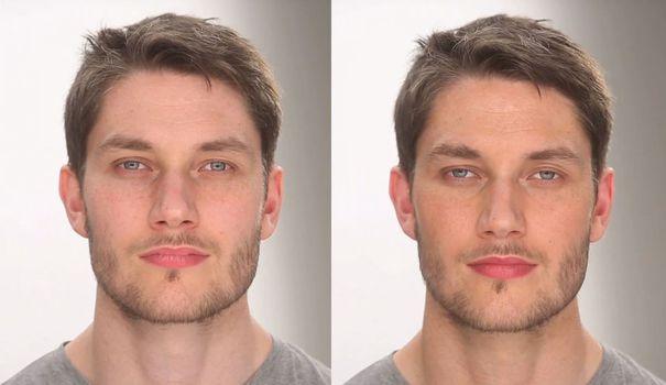 گریم و پاکسازی پوست مردانه