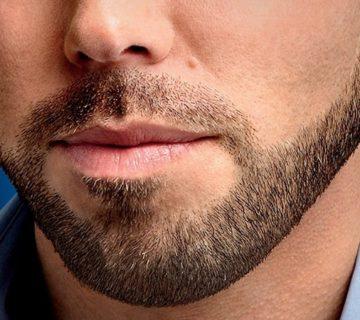اصلاح صورت مردان با موم