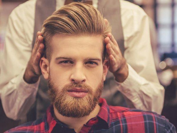 روش کراتینه مو مردانه
