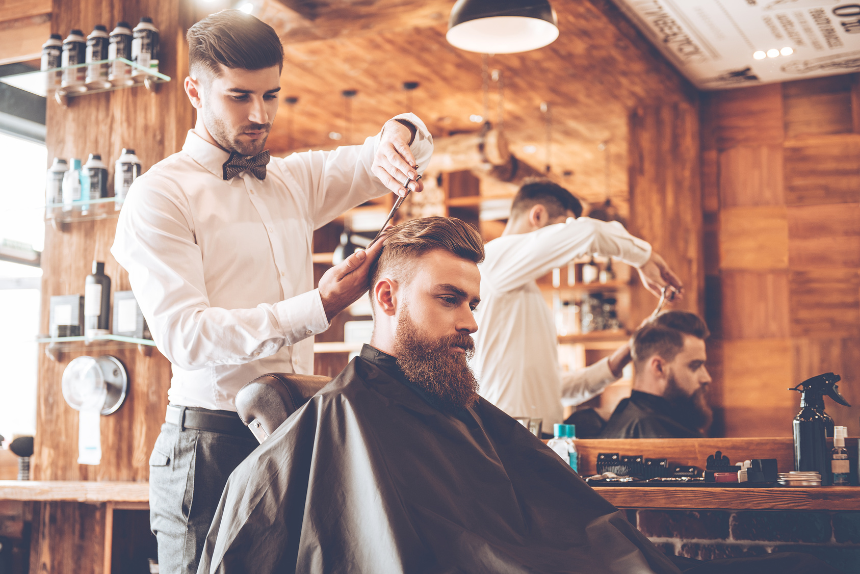 نحوه مدرک آرایشگری مردانه