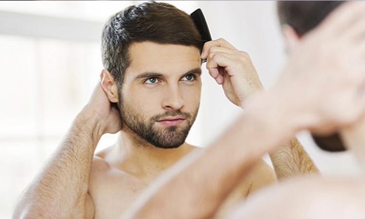 درمان کم پشتی مو مردان