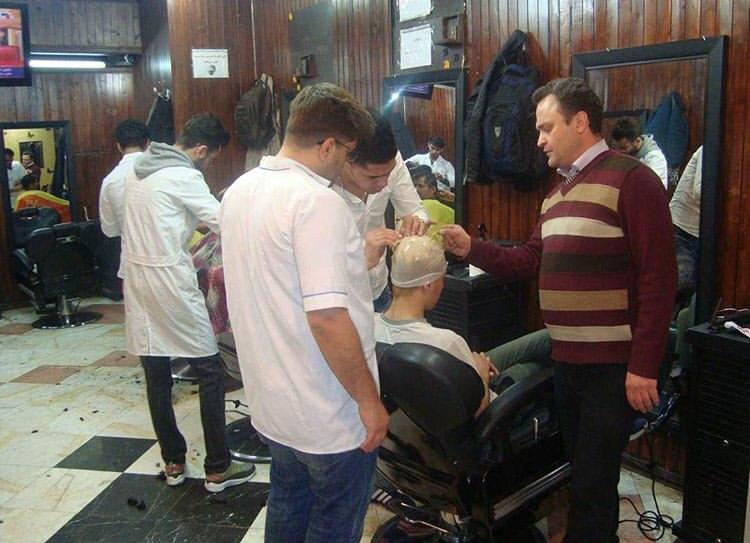 آموزشگاه آرایشگری هیر آکادمی