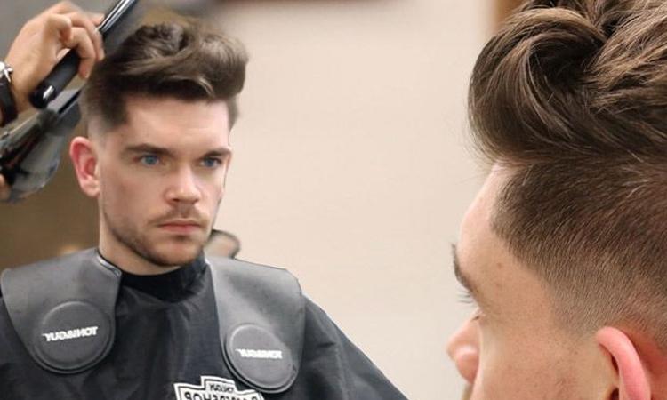 صافی مو مردانه در سالن زیبایی