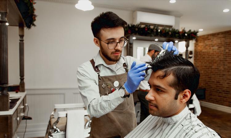 کلاس آرایشگری مردانه